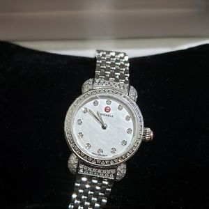 Watch Michele  with Dia Sapphires